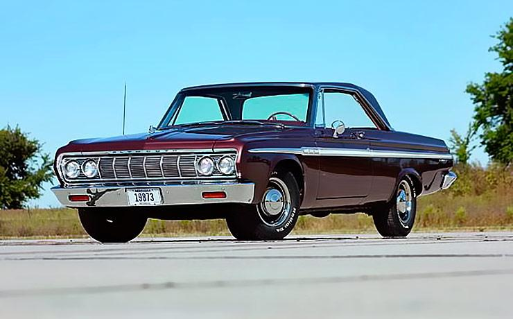 1964 Plymouth Fury front