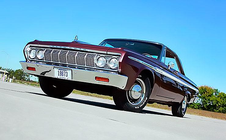 1964 Plymouth Fury three quarter front