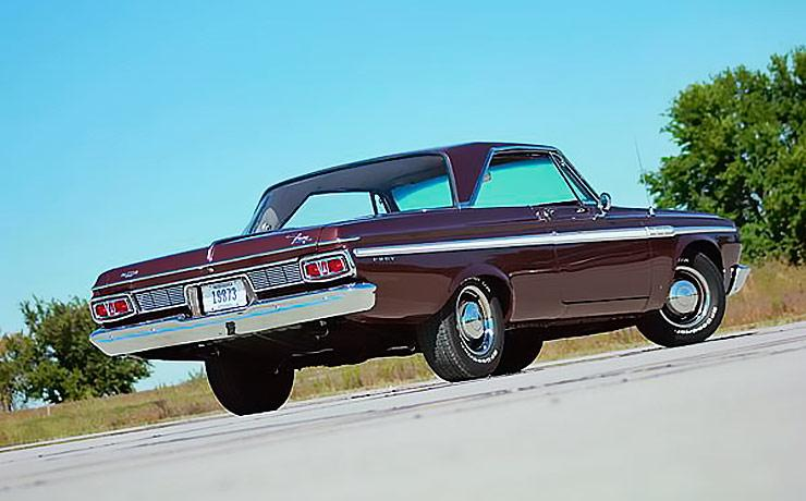 1964 Plymouth Fury three quarter rear