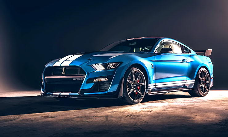 2020 Ford Mustang Shelby GT500 front left