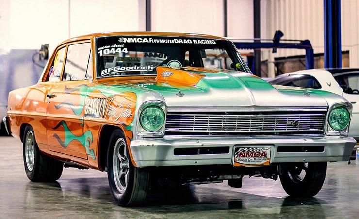 Chevrolet Nova from Don Baskins collection