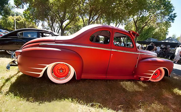Fat Fendered 1942 Ford Mild Kustom right side