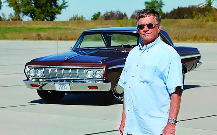 Tom Gilmore with his 1964 Plymouth Fury