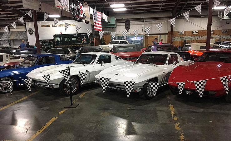 unique collection of American classics owned by Don Baskin