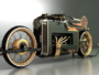 ARX-4 Steampunk motorcycle