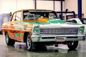 Don Baskins 1966 Chevy Nova SS
