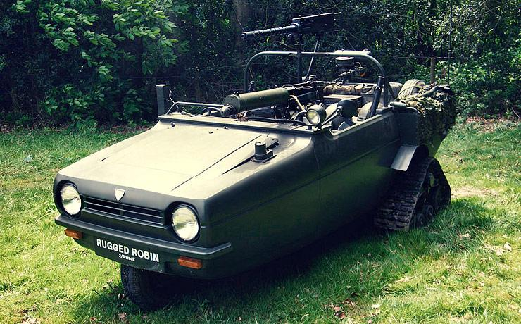 Rugged Reliant Robin
