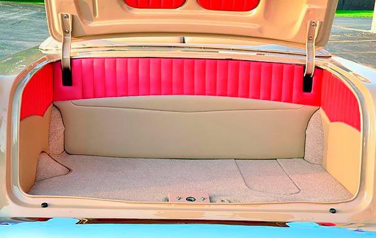 1955 Chevy Bel Air convertible Modern Nostalgia trunk