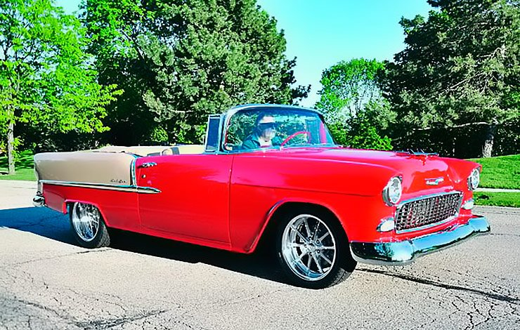 "1955 Chevy Bel Air convertible ""Modern Nostalgia"""