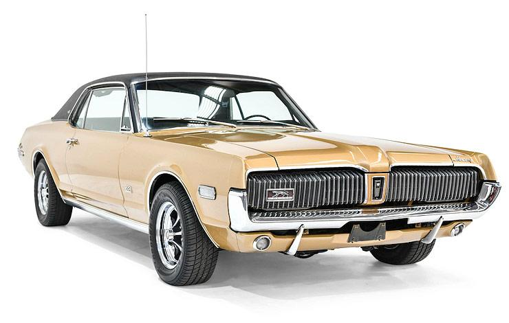 1967–1970 Mercury Cougar XR7