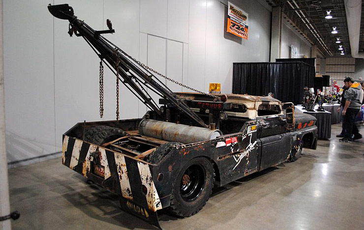 Chevy tow truck  rat rod