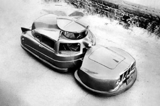Sir Vival safety car from 1958
