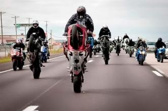 insane street bike stunts