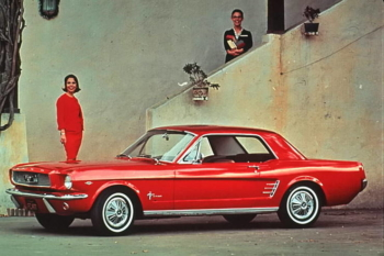 1966 Ford Mustang vintage photo