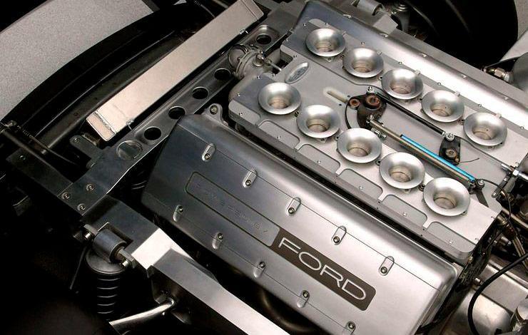 2004 Ford Shelby Cobra Concept Car engine