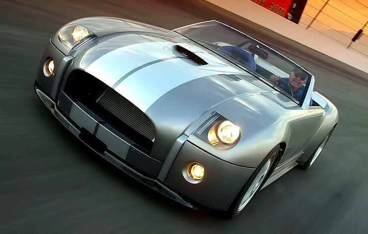 Carroll Shelby Drives Cobra Concept 2004