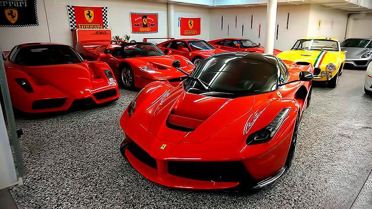 David Lee S 50 Million Worth Ferrari Collection Throttlextreme