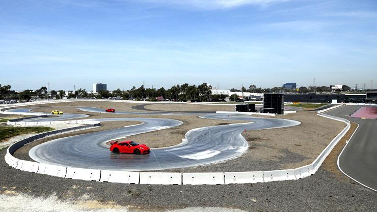 Inside Los Angeles Porsche Experience Center