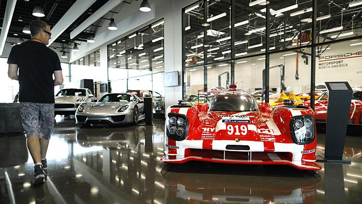 Inside Porsche Experience Center Los Angeles