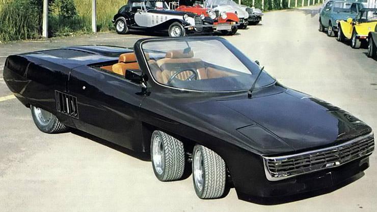 Panter 6 six-wheeled car