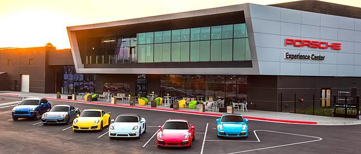Porsche Experience Center headquarters LA