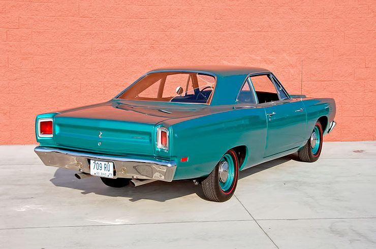 1969 Plymouth Road Runner rear right