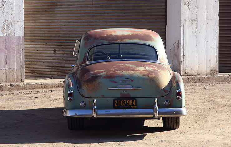1952 Chevrolet Derelict Business Coupe by Icon rear