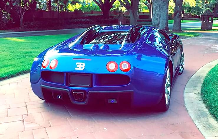 Bugatti Veyron replica rear