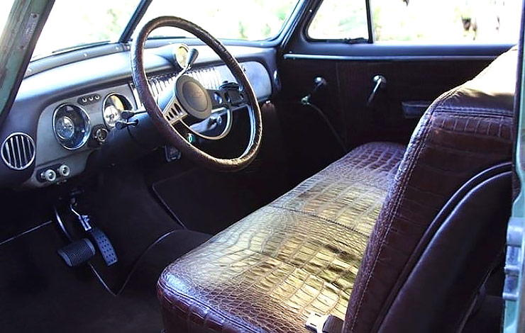 Icon Derelict 1952 Chevy Business Coupe interior