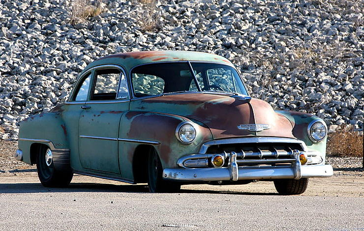 Icon Derelict 1952 Chevy Business Coupe
