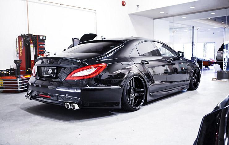 Mercedes CLS Sinister by SR Auto Groups rear end