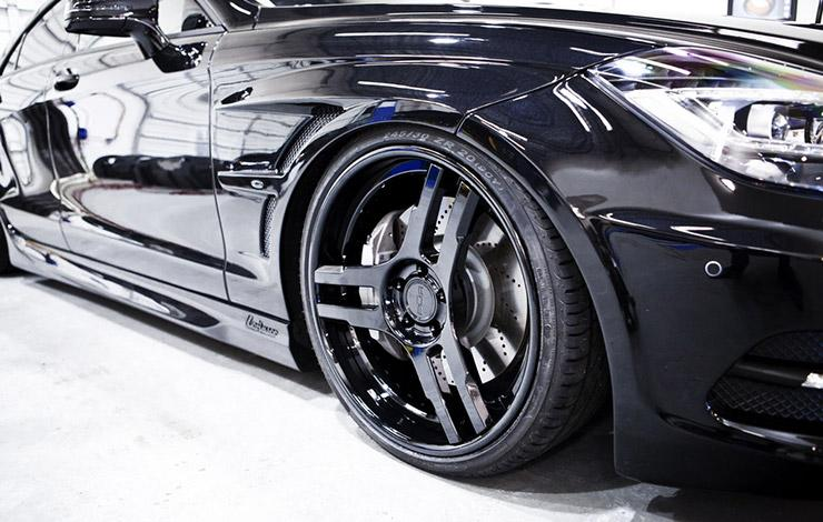 Mercedes CLS Sinister by SR Auto Groups wheels