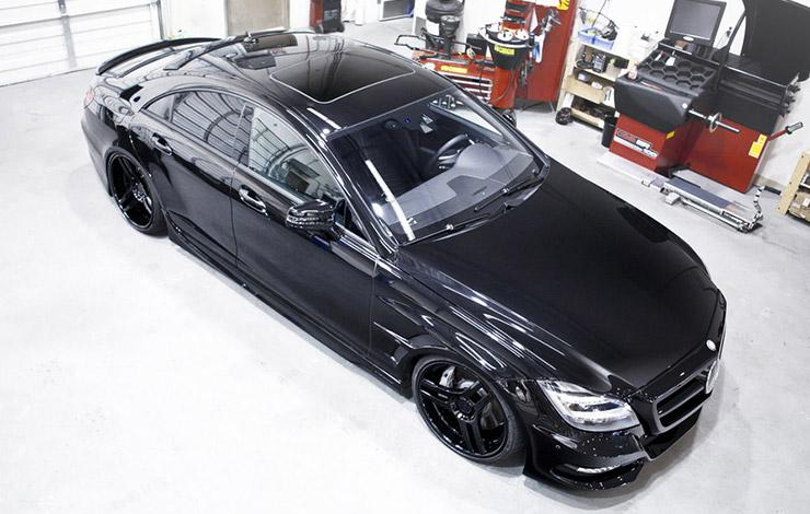 Mercedes CLS Sinister by SR Auto Groups