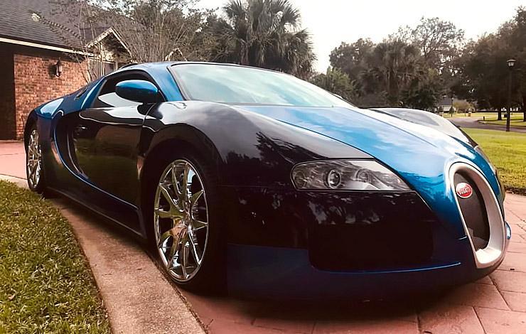 Mercury Cougar convert into Bugatti Veyron
