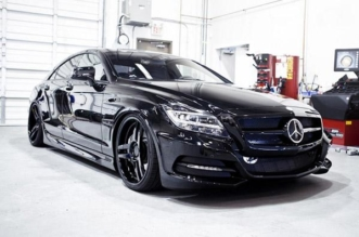 SR Auto Groups Sinister Mercedes CLS