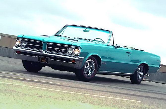 1964 Pontiac GTO convertible front left