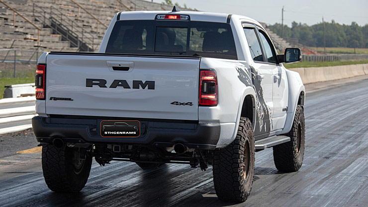2019 Ram 1500 Rebel RebHELL rear