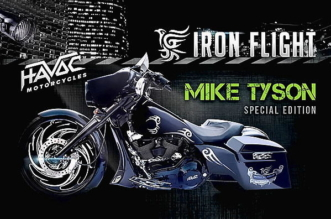 Havoc Motorcycles Iron Flight Mike Tyson Edition