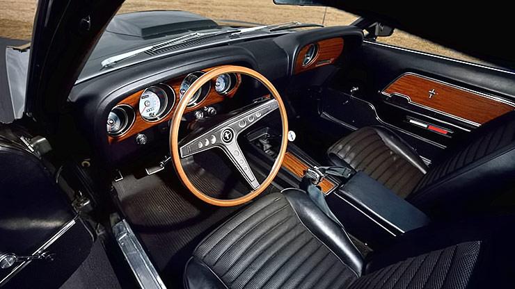 1969 Ford Mustang Boss 429 interior