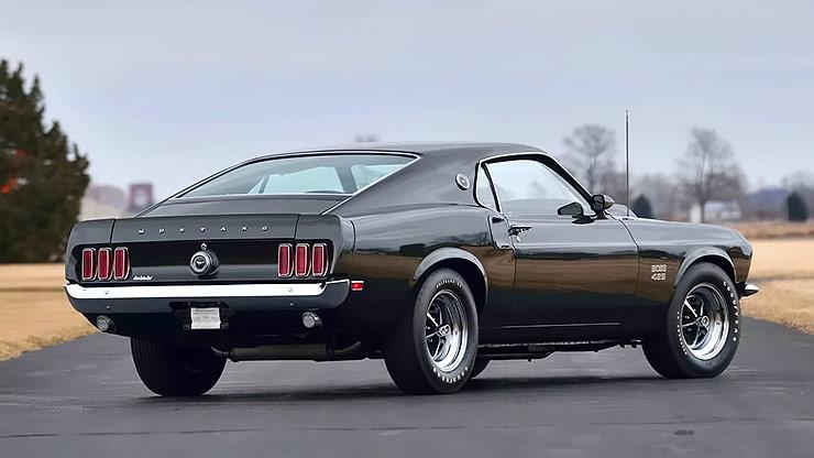 1969 Ford Mustang Boss 429 rear