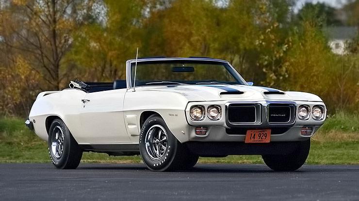1969 Pontiac Trans Am Convertible front