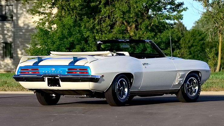 1969 Trans Am Convertible rear