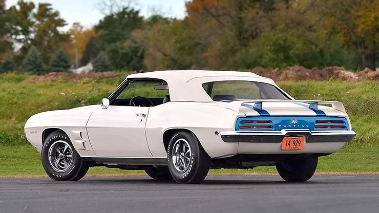 1969 Trans Am Convertible with top on