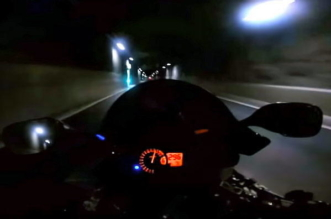 Ghost Rider is back and doing 186mph on a public road