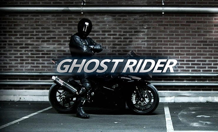 Swedish daredevil known as Ghost Rider