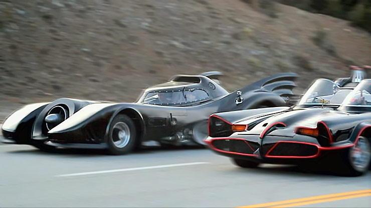 batmobiles head to head race