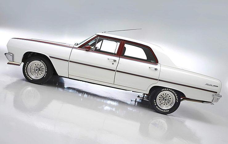 1965 4-door Chevelle nicknamed Malibu Magic