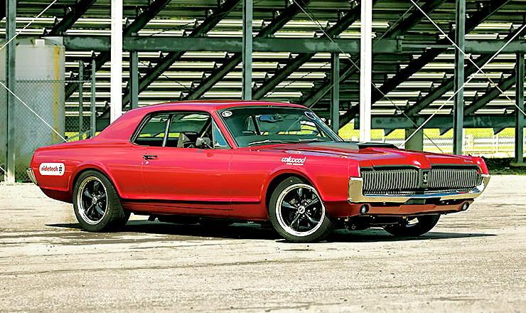 1968 Mercury Cougar hot rod