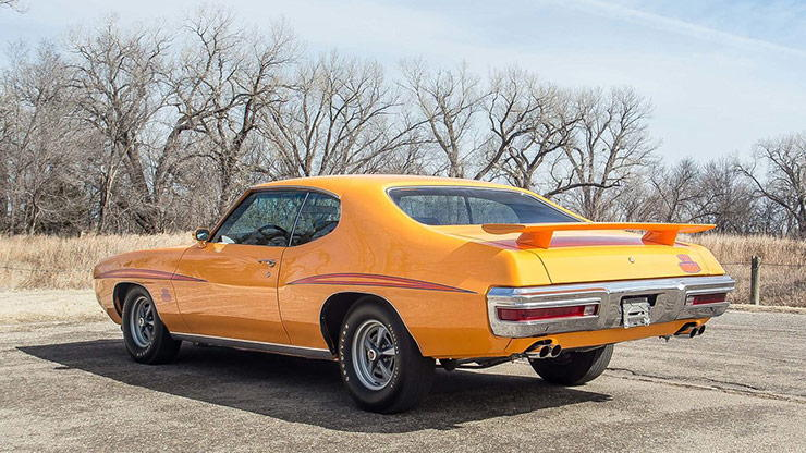 1970 Pontiac GTO Judge rear