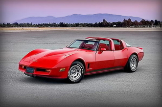 4-door Chevrolet Corvette C3